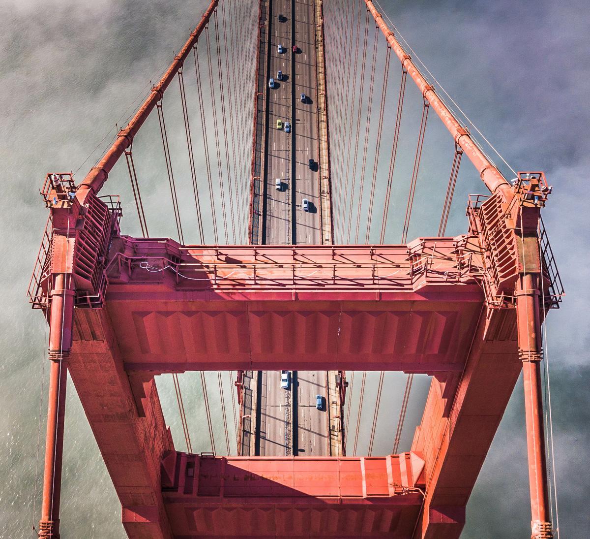 Drone Bridge Aerial imaging